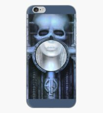 woman's skull iPhone Case