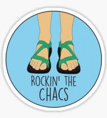 Rockin' the Chacs Sticker Sticker