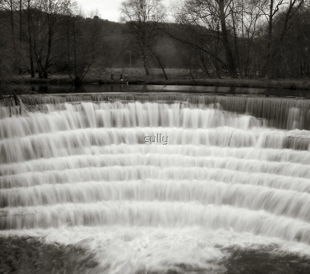 the old weir by sully