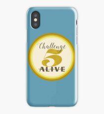 Challenge Five Alive Badge Logo iPhone Case/Skin