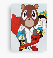 Pinocchio Story Canvas Print