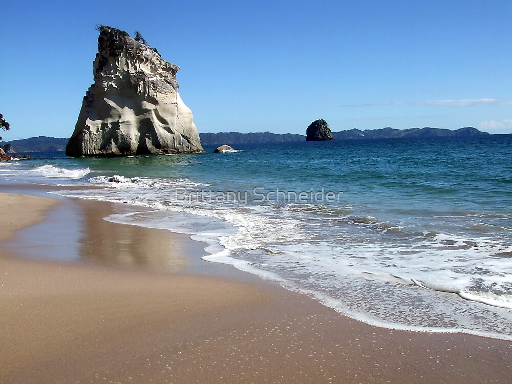 Cathedral Cove #1 by Brittany Schneider