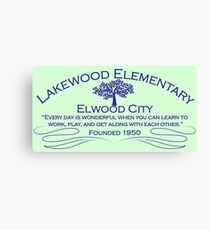 Lakewood Elementary Canvas Print