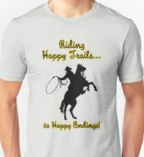 Riding Happy Trails T-Shirt