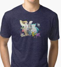 Jonno Plays YouTube Fan Mail from Brandon Ortiz! Tri-blend T-Shirt