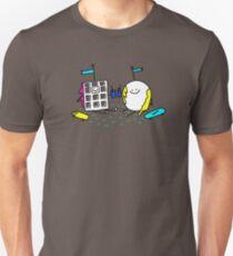 Waffle and Pancake having picnic drinks Unisex T-Shirt