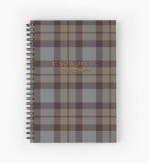 Tartan Outlander Spiral Notebook