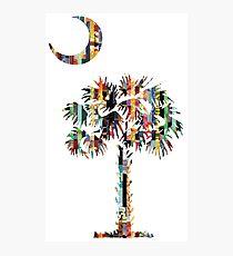 Palmetto and Crescent | South Carolina Emblem Photographic Print
