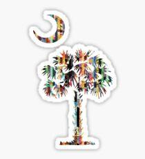 Palmetto and Crescent | South Carolina Emblem Sticker
