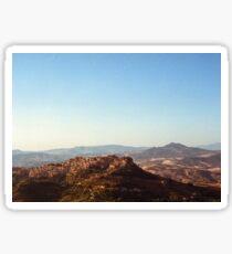 Sicilian Landscape Sticker