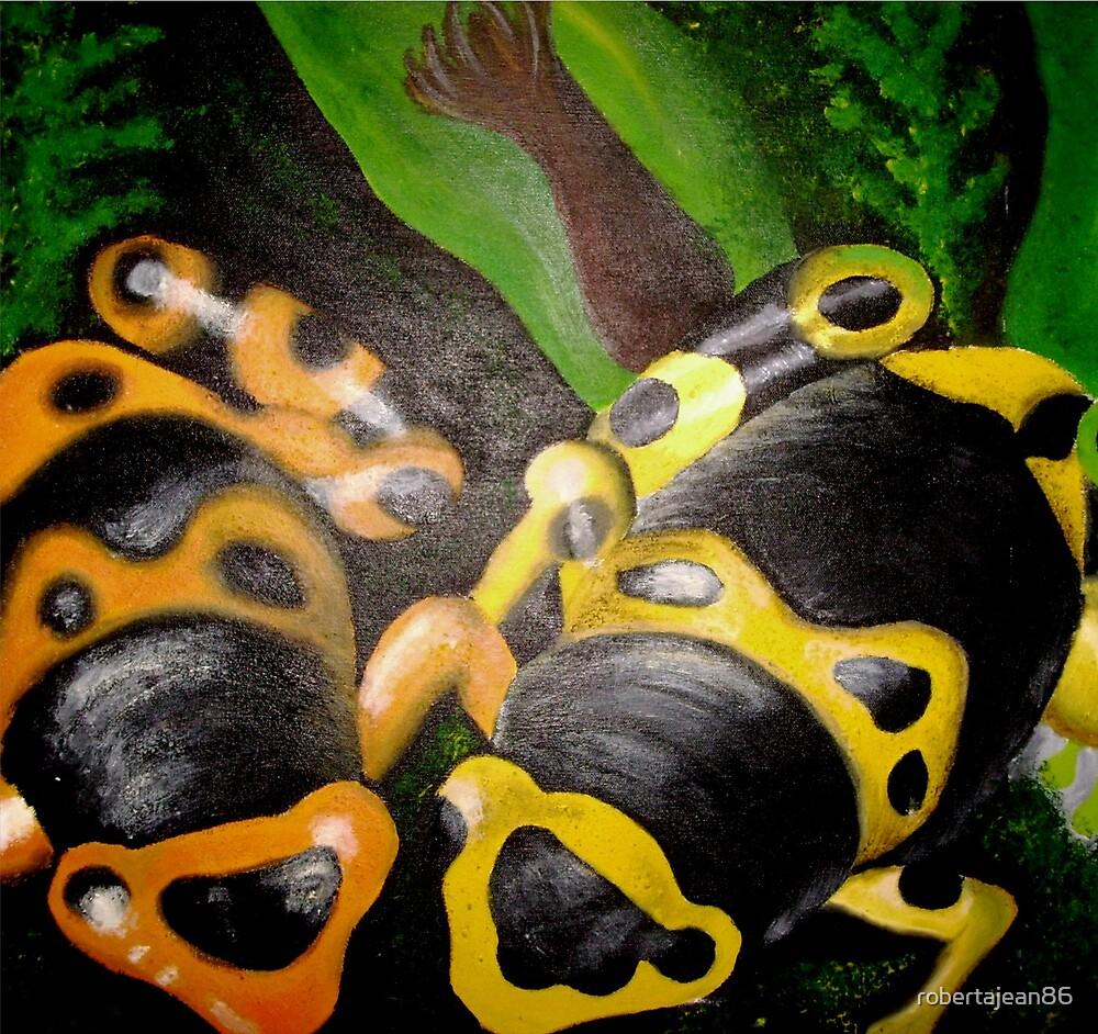 Poison Dart Frogs by robertajean86