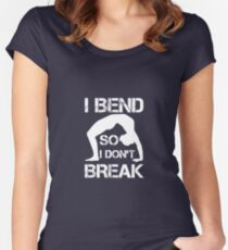 Contortion  Women's Fitted Scoop T-Shirt