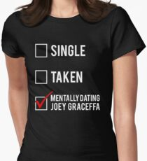 Dating With Joey Graceffa Women's Fitted T-Shirt