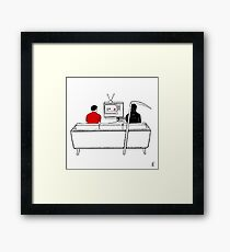Gaming With Death Framed Print