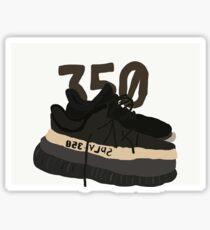 Yeezy drawing Sticker