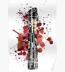 Darth Vader Lightsaber Poster