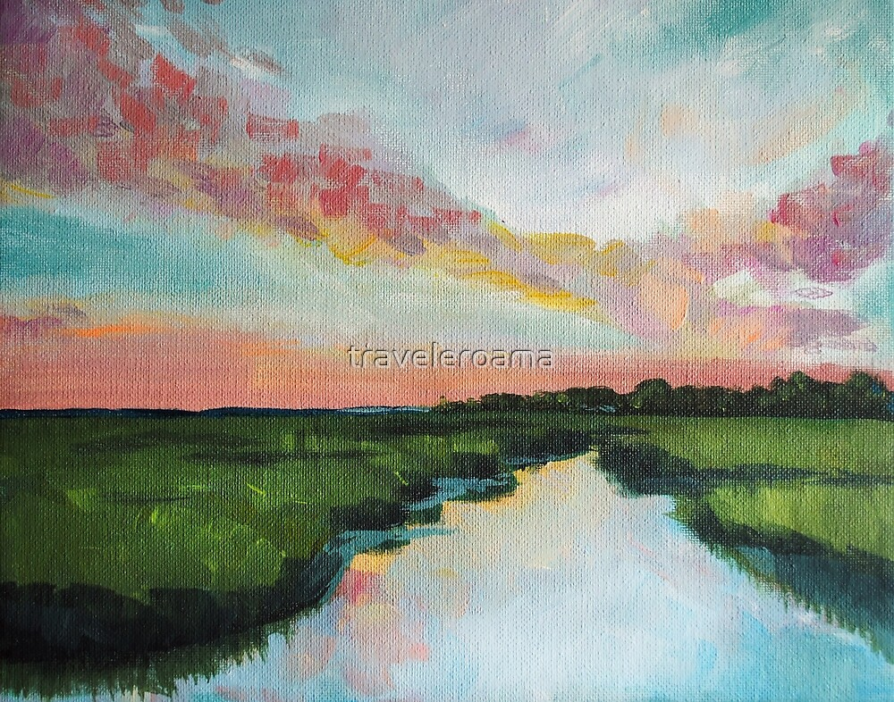 Sorbet Skies | Low Country  by Sarah Basso