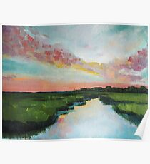 Sorbet Skies | Low Country  Poster