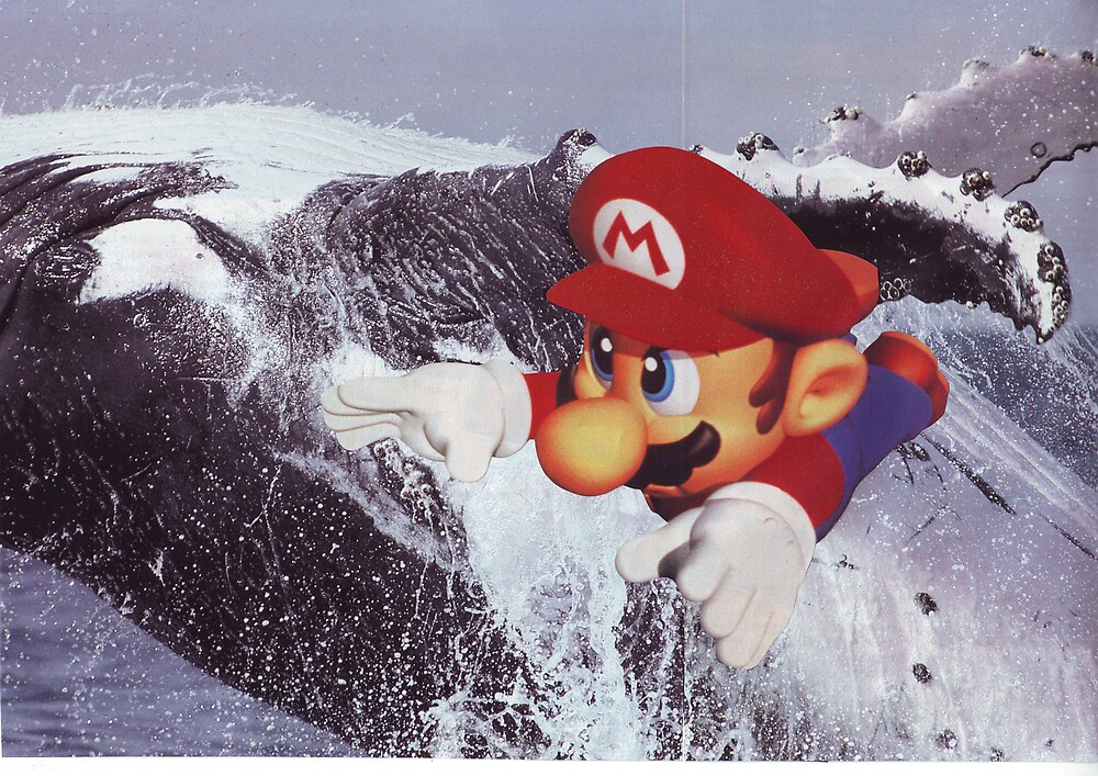 Super Mario to the Rescue by atomikboy