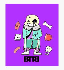 Bad To The Bone - Undertale sans (Normal ver.) Photographic Print