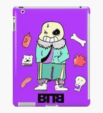 Bad To The Bone - Undertale sans (Normal ver.) iPad Case/Skin