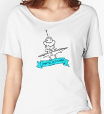 Whato, Old Chap Women's Relaxed Fit T-Shirt