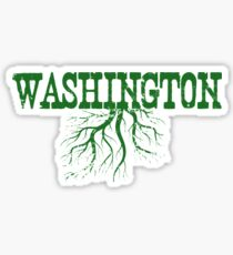 Washington Roots Sticker