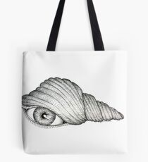 "A ""See"" Shell  Tote Bag"