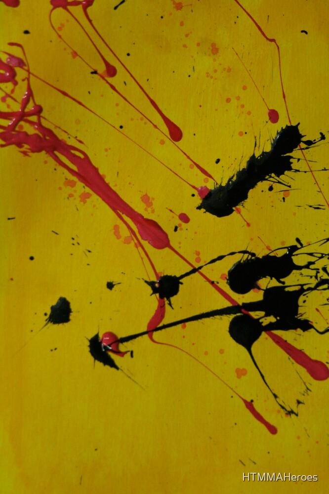 Yellow Splatter by HTMMAHeroes