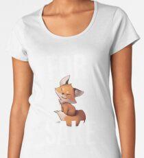 Fox Cute For Fox Sake Women's Premium T-Shirt