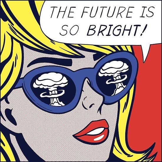 Pop optimistisches Mädchen von Corbin Hunsaker