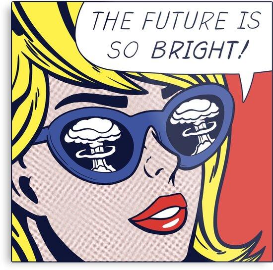 Pop Optimistic Girl by Corbin Hunsaker