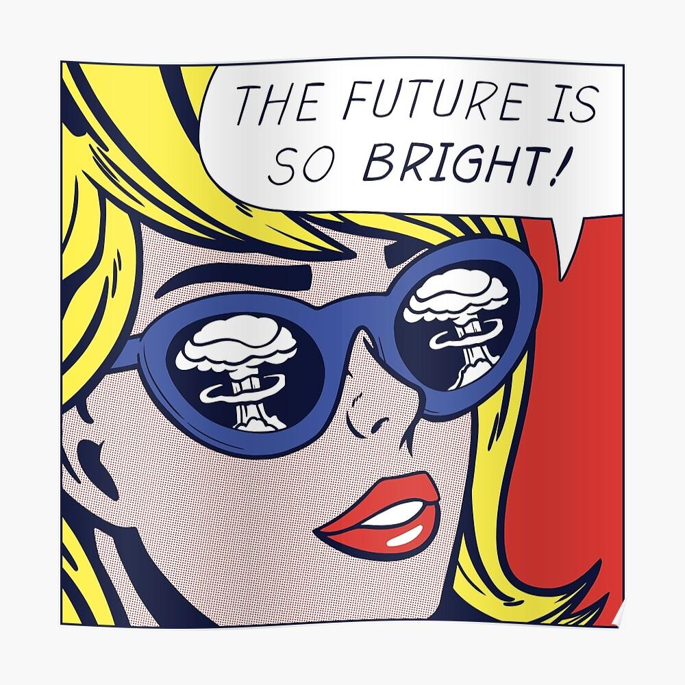 Pop Optimistic Girl Poster