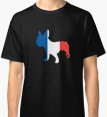 Cool French Bulldog French Flag Shirt Classic T-Shirt