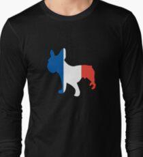 Cool French Bulldog French Flag Shirt T-Shirt