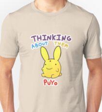 Thinking About Them Puyo Unisex T-Shirt
