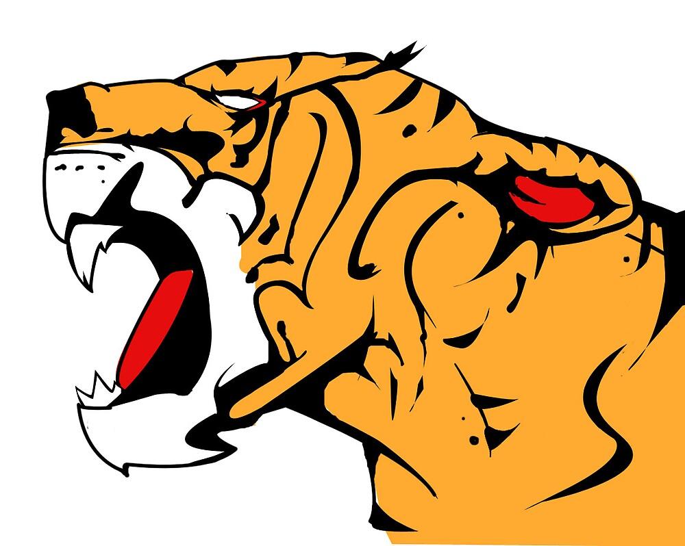 Tiger for tigirs 2008 by Kassi Mulligan