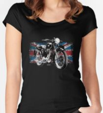 Matchless Motorcycle Autonautcom Women's Fitted Scoop T-Shirt