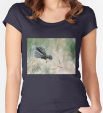 Morning Light - Fantail Women's Fitted Scoop T-Shirt