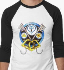 Sora Stained Glass Emblem Men's Baseball ¾ T-Shirt