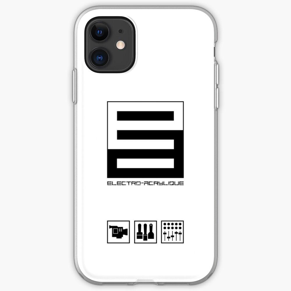 Coque iPhone «Electro-Acrylique»