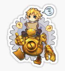 Blitz + Ezreal, where are we? Sticker