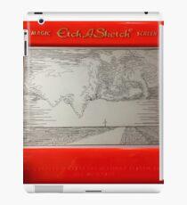 Double Tornado Etch A Sketch iPad Case/Skin