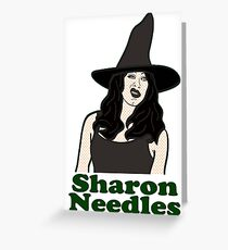 RuPaul's Drag Race - Season 4 - Sharon Needles Greeting Card