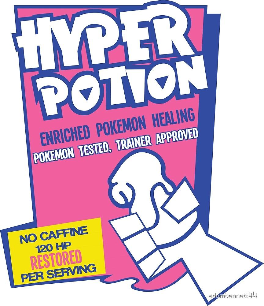 Hyper Potion Up By Adambennett44 Redbubble