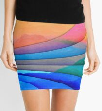 Parallel Dimensions - The Sacred Mountain Mini Skirt