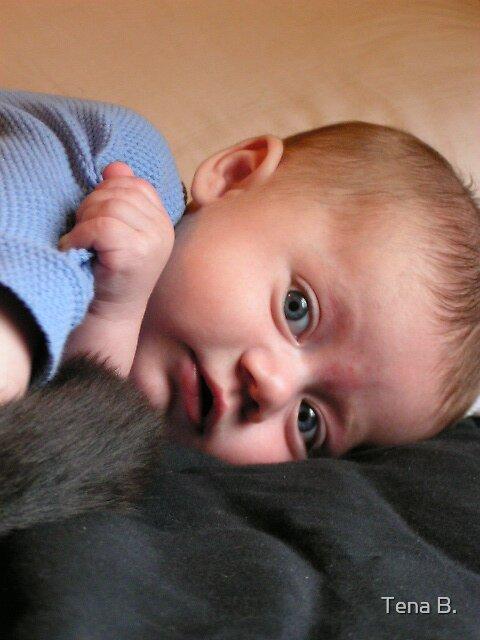 Cute baby by Tena B.