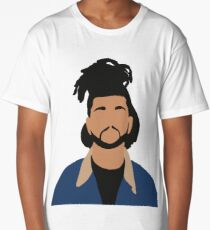 The Weeknd Minimalist Illustration  Long T-Shirt