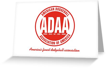 American dodgeball association of america greeting cards by american dodgeball association of america by roguepanda m4hsunfo