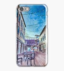 Alleyway Patio  iPhone Case/Skin